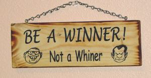 Whiner-sign