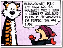 Calvin and Hobbs Resolutions