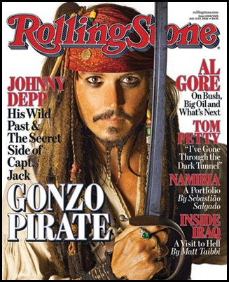 Rolling Stone Johnny Depp Cover