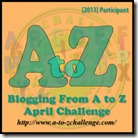 A to Z April Challenge 2013
